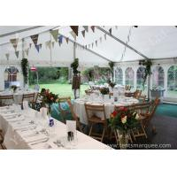 Wholesale Wind Resistant Outdoor Luxury Wedding Tents Marquee Aluminum Profile from china suppliers