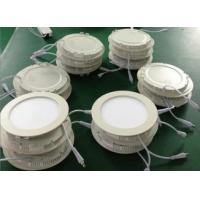 Wholesale Dimmable SMD2835 9Watt LED Recessed Panel Lights Round 120° For Indoor from china suppliers