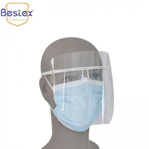 Wholesale Transparent ISO 1348522cm  Splash Proof Protective Face Shield from china suppliers