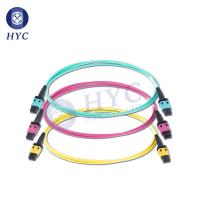 China 8 12 24 Cores MPO/MTP Patch Cord OM2 OM3 OM4 Fiber Optic Cable Jumpers on sale
