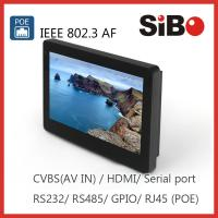 SIBO Enhanced Tablet With RS232 RS485 POE for sale