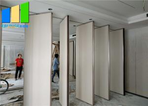 Wholesale Removable Soundproof 65mm Thick Office Sliding Folding Partition Wall Divider from china suppliers