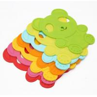 China Bear Silicone Kitchen Tools , Heat Resistant Table Mats Insulated Kids Free on sale