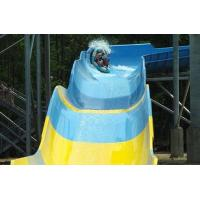 Family Rafting Water Parks Slide for 4 Person , Water Slides At Water Parks Manufactures