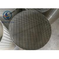 Wholesale Stainless Steel Johnson Water Filter Screen Pipe Slot Hole Shape from china suppliers