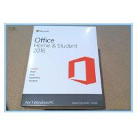 Wholesale Microsoft Office 2016 Home And Student Edition Pc Download Lifetime Activation from china suppliers