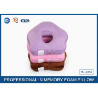 China Small Ring Cute Memory Foam Sleep Pillow / Memory Foam Car Seat Cushion on sale