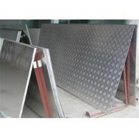 Wholesale 5052 Five bars Aluminum Checker Plate aluminum sheet embossed for anti-slip floor from china suppliers