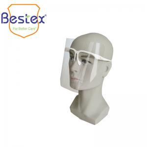Wholesale Surgical Splash Isolation Thickness 0.2mm Disposable Face Shield from china suppliers