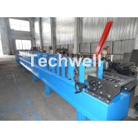 Quality Metal Stud And Track Roll Forming Machine , Sheet Metal Roll Former For Roof for sale