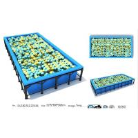 Wholesale 69M2 China Professional Manufacture Trampoline/ China Low Price Jumping Bed/ Fitness Club from china suppliers