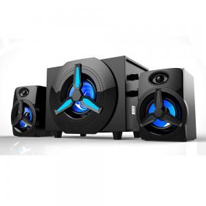 China Elastic diaphragm Heavy bass 2.1 computer active multimedia speaker subwoofer manufacturer on sale