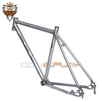 Wholesale Alloy Titanium Road Bike Frame Disc Brake Internal Or External Cable Routing from china suppliers