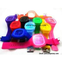Wholesale Wholesale Colorful Silicone Strap Watch for young from china suppliers