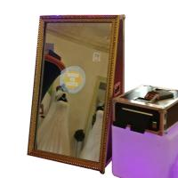 Buy cheap Interactive Self-service photobooth Instagram Selfie Magic Mirror Photo Booth from wholesalers