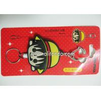 Wholesale Custom retractable pvc wrap cartoon girls design badge reel plastic pull reel with clip from china suppliers