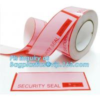 China Anti Theft Scotch Tape Label Security Void Tamper Evident Box Seal Tamper on sale