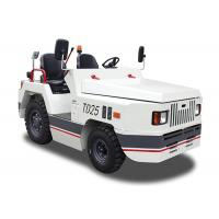 Buy cheap White Aircraft Tow Tractor High Efficiency 23kw Self Diagnosis With Curtis from wholesalers