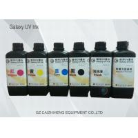 Wholesale 1 Liter Brilliant Color LED UV Ink , DX5 / Ricoh / Konica UV Inkjet Printer Ink from china suppliers