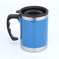 Wholesale Double Wall LFGB 400CC Stainless Steel Insulated Mug from china suppliers