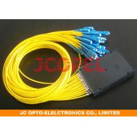 Wholesale SM MM Optical Fiber Coupling Splitter For CATV PON networks Low insertion loss from china suppliers