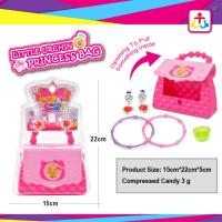 Wholesale Princess bag with press candy 3g for girls from china suppliers