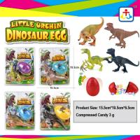 Wholesale Suprise egg press candy with dinosour toys for kids from china suppliers