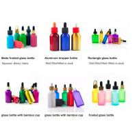 Wholesale 1oz 50ml Cosmetic Glass Bottles With Glass Pipette For Essential Oil  OEM from china suppliers
