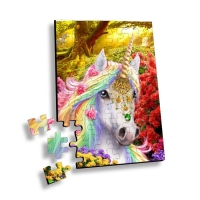 Wholesale 100 Piece Plastic 3D Lenticular Printing Puzzle For Souvenir from china suppliers