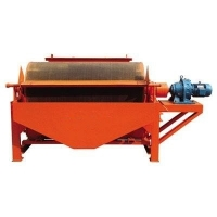 Wholesale Beneficiation Drum Type Magnetic Separator , Wet Magnetic Separator from china suppliers