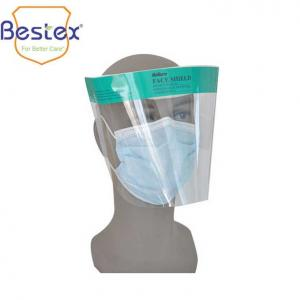 Wholesale Anti Fog Latex Free Transparent APET Antiviral Face Shield from china suppliers