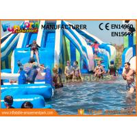 Wholesale Funworld Large Inflatable Water Slide With Swimming Pool Water Game Pvc Tarpaulin from china suppliers