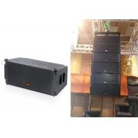 Wholesale Two-way Line Array Speaker Passive Mode Dual 10 Inch Black Wooden Box from china suppliers