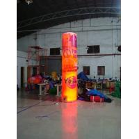 Wholesale 5m Customized Color Advertising Helium Balloons Inflatable Pillar With Light For Party from china suppliers