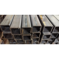 Buy cheap S235 / S275 / S355 Square Steel Pipes / ERW Steel Structural Hollow Section Sch from wholesalers