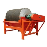 Wholesale Permanent Drum Type Magnetic Separator With Carbon Steel Material from china suppliers