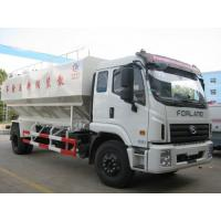 Wholesale Foton Rowor LHD 20cbm 12ton bulk feed transportation truck for sale, best price farm-oriented animal feed delivery truck from china suppliers