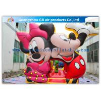 Wholesale Beautiful Mickey Mouse Kids Inflatable Bouncy Castle Cartoon With CE / UL Blower from china suppliers