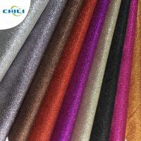 Wholesale Customized Glitter Wall Fabric High Abrasion Resistance Easy Cutting Solid Color from china suppliers