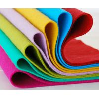Wholesale Eco Friendly Blue Colored Wool Felt, 100% wool felt Sheet for Crafts, Bags from china suppliers