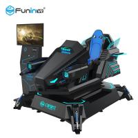 Wholesale Single Player Dynamic 9D Virtual Reality Simulator Arcade Racing Car Game Machine from china suppliers