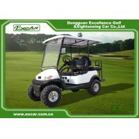 Wholesale White 2 Seater Beach Electric Hunting Buggy With Trojan Battery from china suppliers