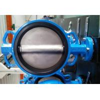 Wholesale PTFE Lined Centric Butterfly Valve Self Lubricated Shaft Bear ATEX Wafer Type Butterfly Valve from china suppliers