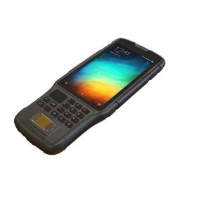 Wholesale Sunlight Readable Handheld Fingerprint Scanner PDA Terminal Android Integrated With Barcode from china suppliers
