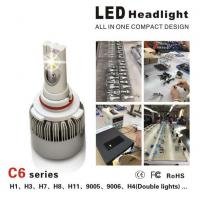 Wholesale CE / RoHS Approved Luxeon MZ Car LED Headlight Bulbs 3000LM 3000K - 6000K from china suppliers