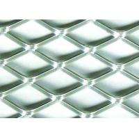 China 5 X 5mm Stainless Flattened Expanded Sheet , Stamping Stainless Steel Expanded Metal Grating on sale