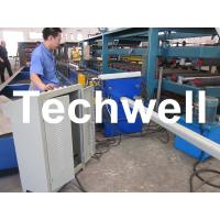 Wholesale PLC Frequency Control System Rainspout Roll Forming Machine for Rainwater Downpipe from china suppliers
