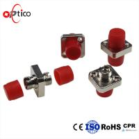 Wholesale Bronze Sleeve  Optical Fiber Adapter / D - Type Fiber Optic Couplers from china suppliers