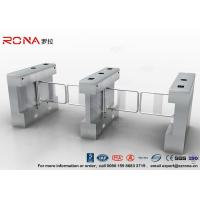 Wholesale Automatic Pedestrian Swing Gate RFID Card Reader Infrared Sensor Security Turnstile from china suppliers