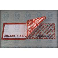 Quality Self - Adhesive Security Tamper Seal Tape For Safety Packing Carton for sale